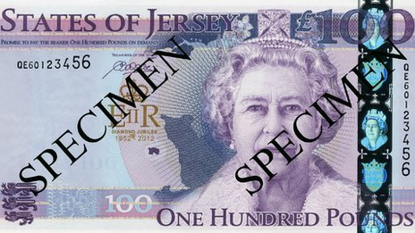 &#163;100 Diamond Jubilee commemorative note