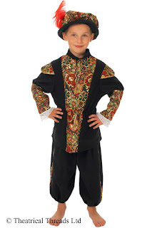 Lord Buckingham Historical Kids Costume from Theatrical Threads Ltd
