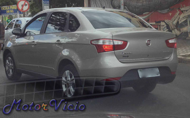 carro Grand Siena Fiat Attractive - rodas 15