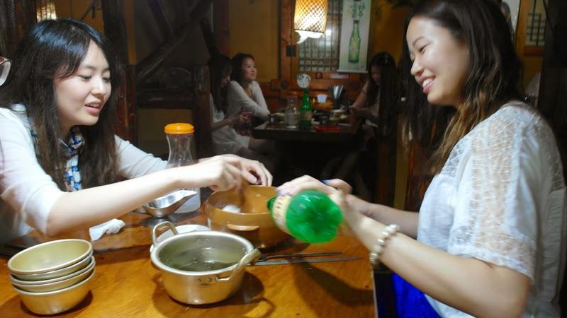 Ewha University Summer Studies Travel Seoul lunarrive singapore Makgeolli sinchon
