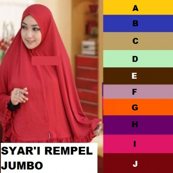 Jilbab Jersey Syar'i