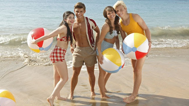 Cast of Disney's Teen Beach Movie
