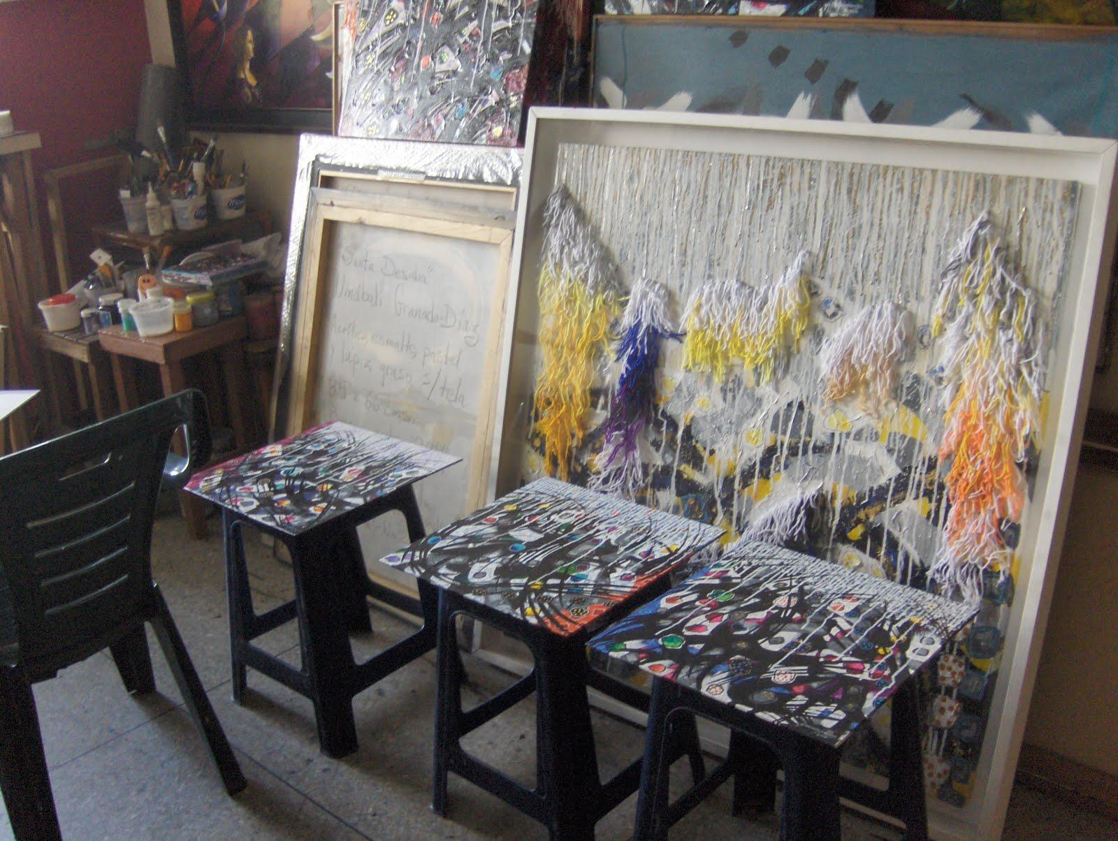 Una vista al taller del artista 2016 - Barquisimeto, Venezuela