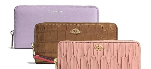 classic coach bags outlet q5ao  Wallet is a very high frequency of use of a single product, practical and  beautiful women choose wallet important criteria COACH zipper wallet long  section