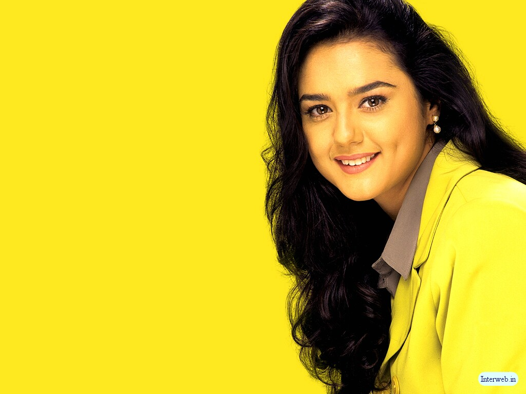 Wallpaper Preity Zinta Hot