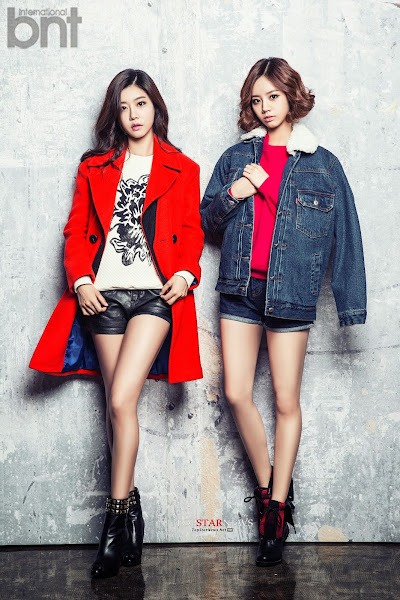 Girl's Day Hyeri Sojin bnt international