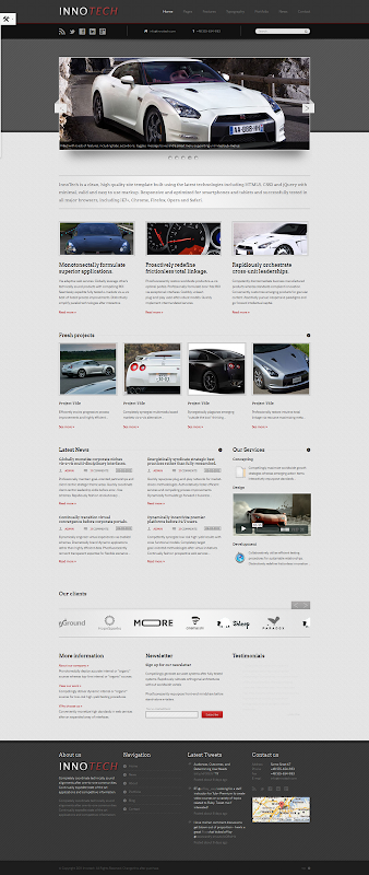 Responsive-HTML5-CSS3-Template