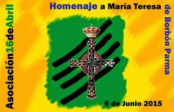 Homenaje a SAR doña María Teresa