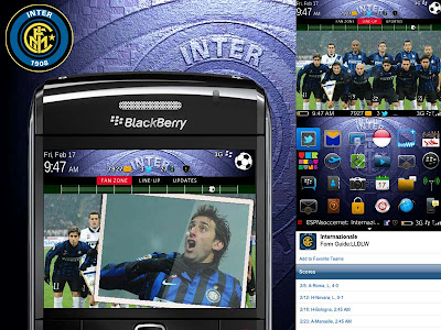 Tema Blackberry Inter Milan