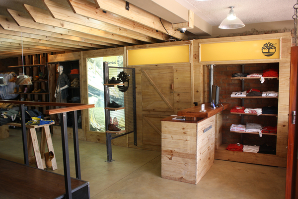 Greedysouth spaces timberland store by austen design zimbabwe architecture and design - Auayen architektur ...