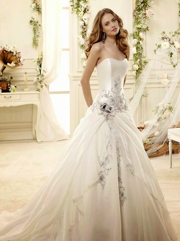 ... Gossips,Beauty Tips: 80 White Bridal Gowns Dresses 2014-15 For Bridal