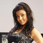 Kajal Agarwal Closeup Shots in Black Dress   Pics