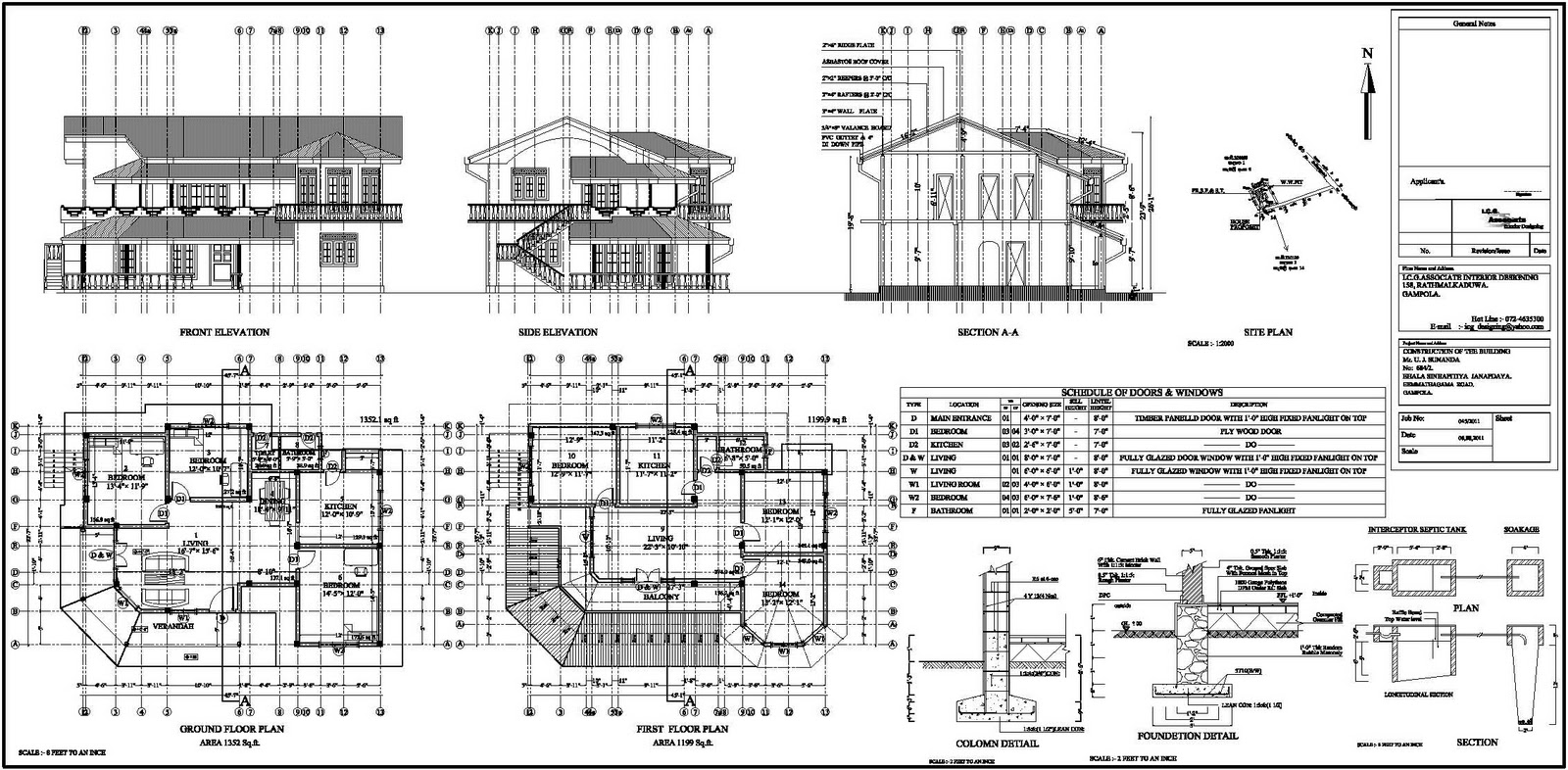 Sri Lanka House Plans