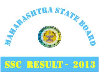 Maharashtra Board SSC Exam Result 2013 at mahresult.nic.in