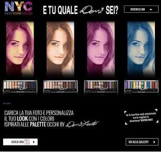 palette occhi by Demi Lovato NYC
