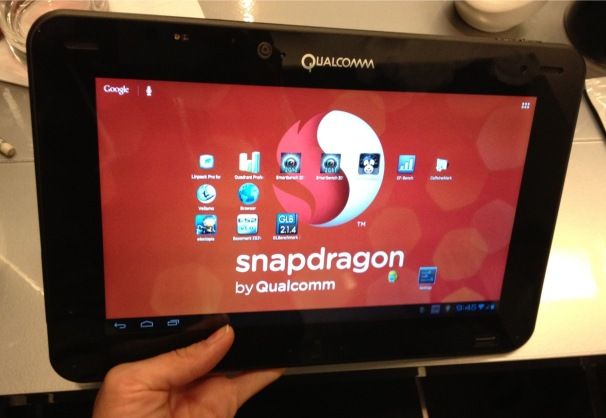 Qualcomms snapdragon 4, just received an adreno 300 series upgrade at mwc 2012