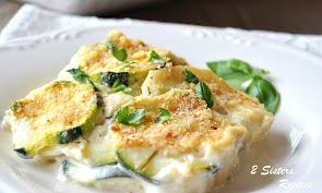 Creamy Potato & Zucchini - Italian Style!