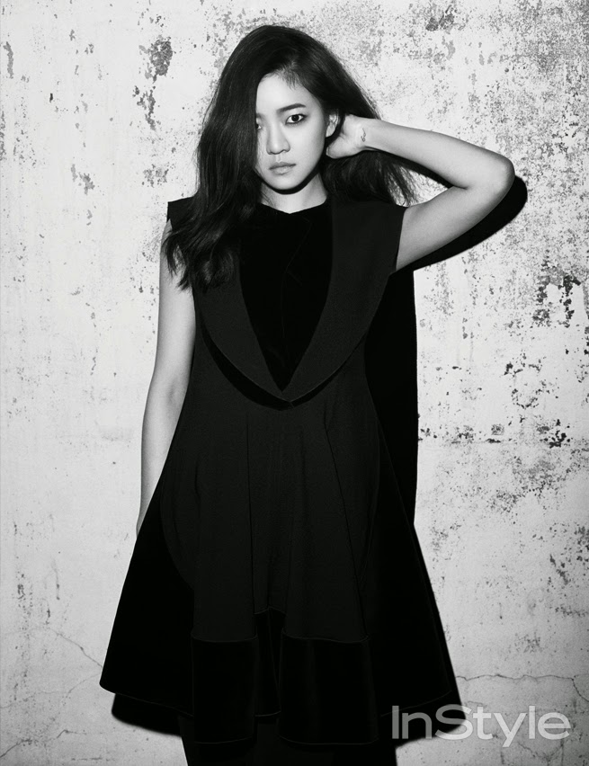 Go Ah Sung - InStyle Magazine December Issue 2014