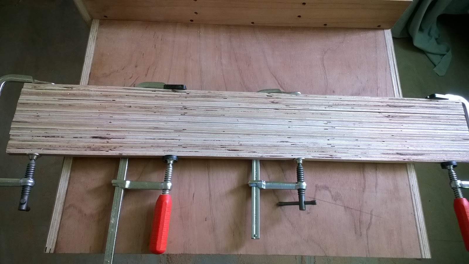 how to cut a hole in plywood