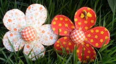 Como hacer flores con reciclaje de PET