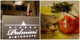 Cena di pesce al ristorante Piazza Palmieri - foto di Elisa Chisana Hoshi