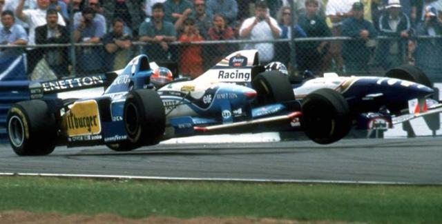 Michael Schumacher Vs Damon Hill