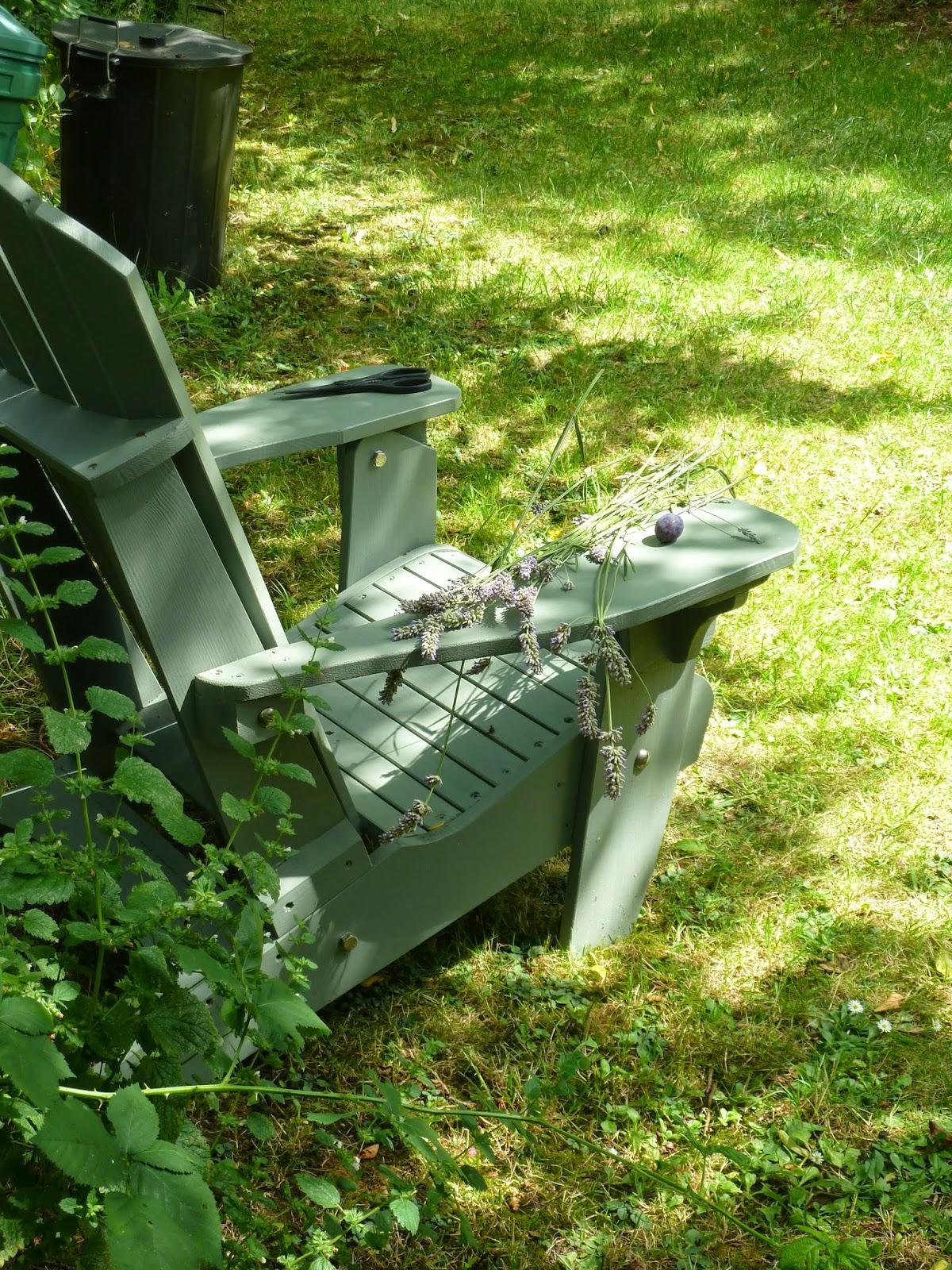 Perfect garden seat