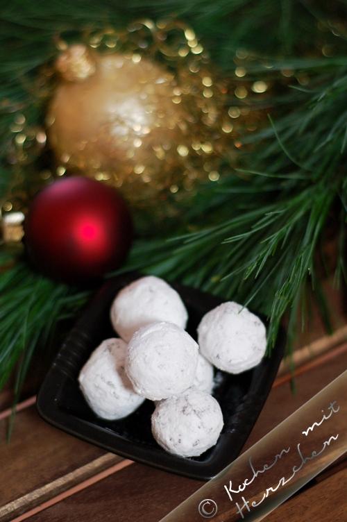 Weihnachtsbäckerei - Baileystrüffel