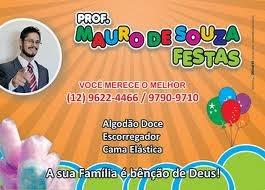Prof. Mauro de Souza Festas