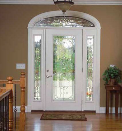 Doors gallery glass front entry doors for Front door with top window