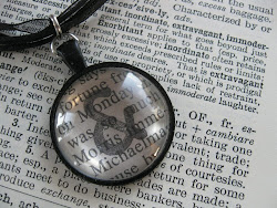 Jane Austen personalized Necklace