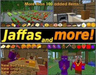 Jaffas and more mod minecraft 1.6.4