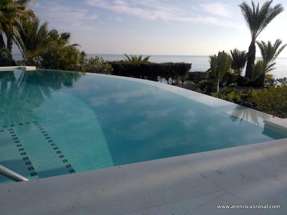Coronaci n de piscina caliza alba areniscas rosal s a for Coronacion de piscinas