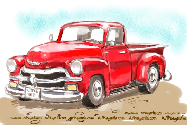 Chevy Truck 54 is a car sketch by Artmagenta