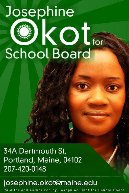 Vote Okot for School Board