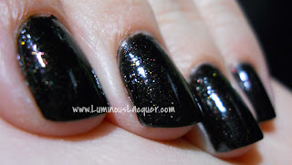 LuminousLacquer.com Calvin Klein CK One Coal