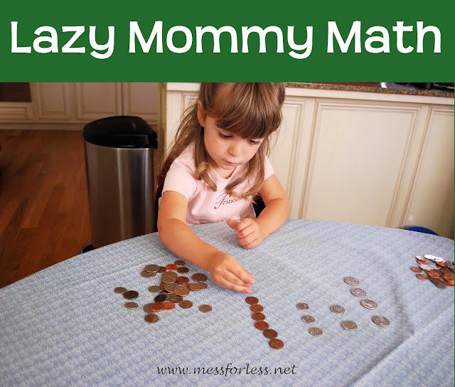 Counting Coins, Preschool Math #preschool