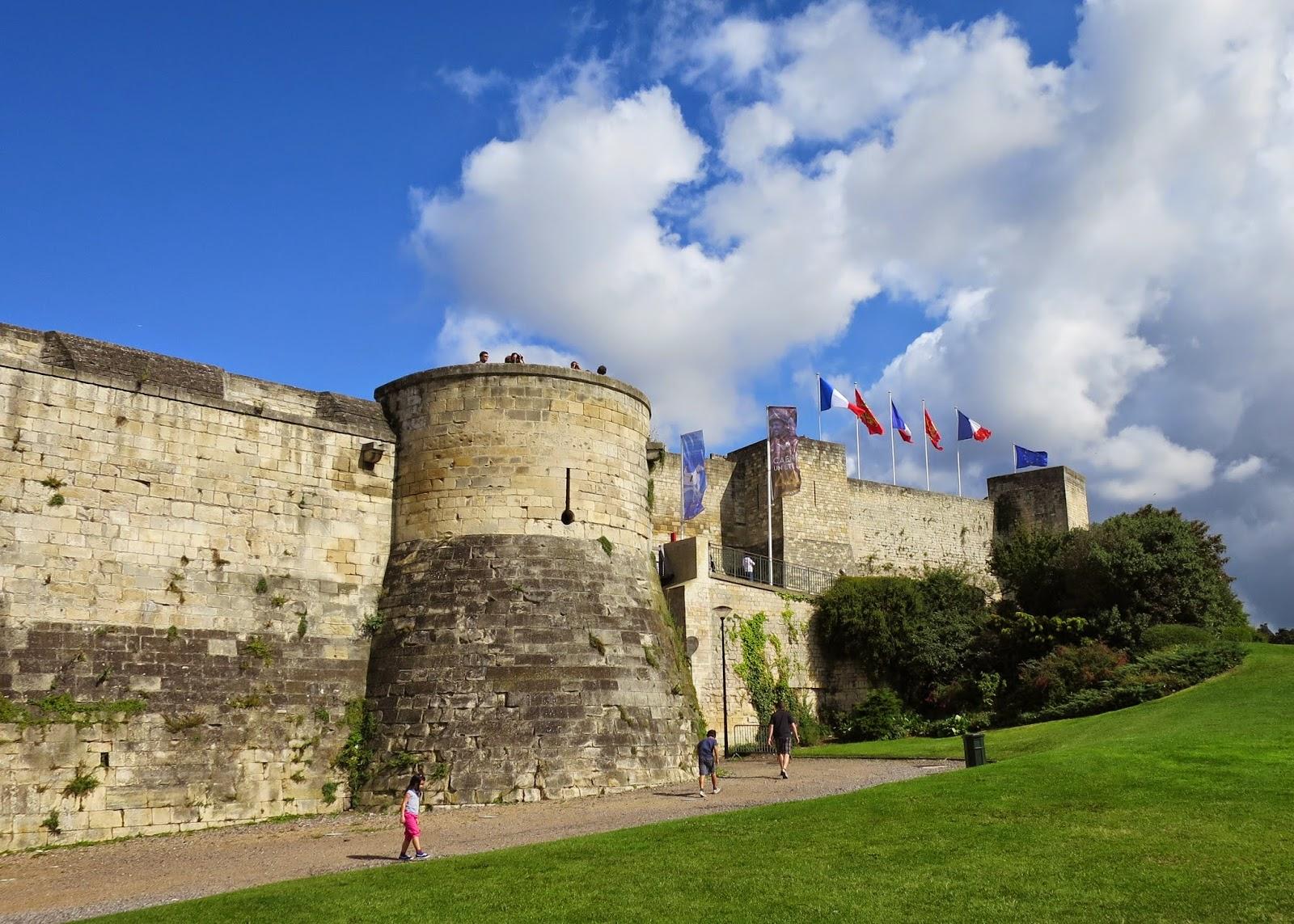 Chateau de Caen, Caen castle