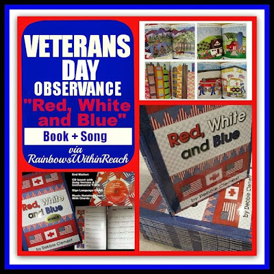 VETERANS DAY: Award Winning  Book + Song