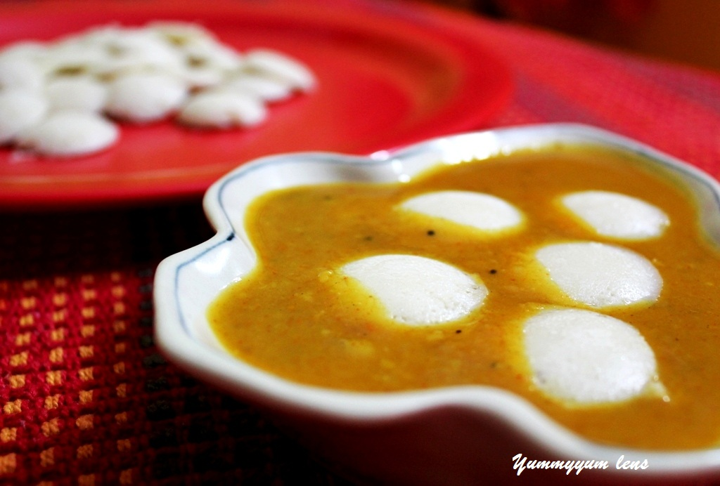 how to make idli sambar in hindi language