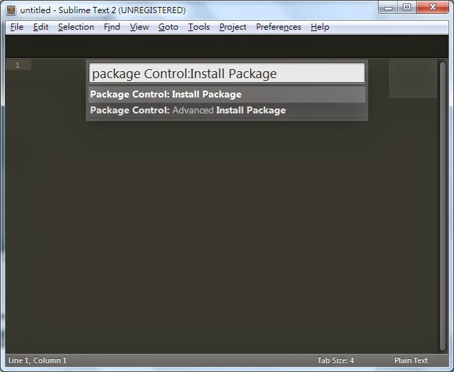 how to download package control in sublime