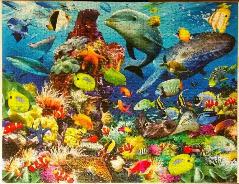 Ravensburger Underwater 2000 piece jigsaw puzzle