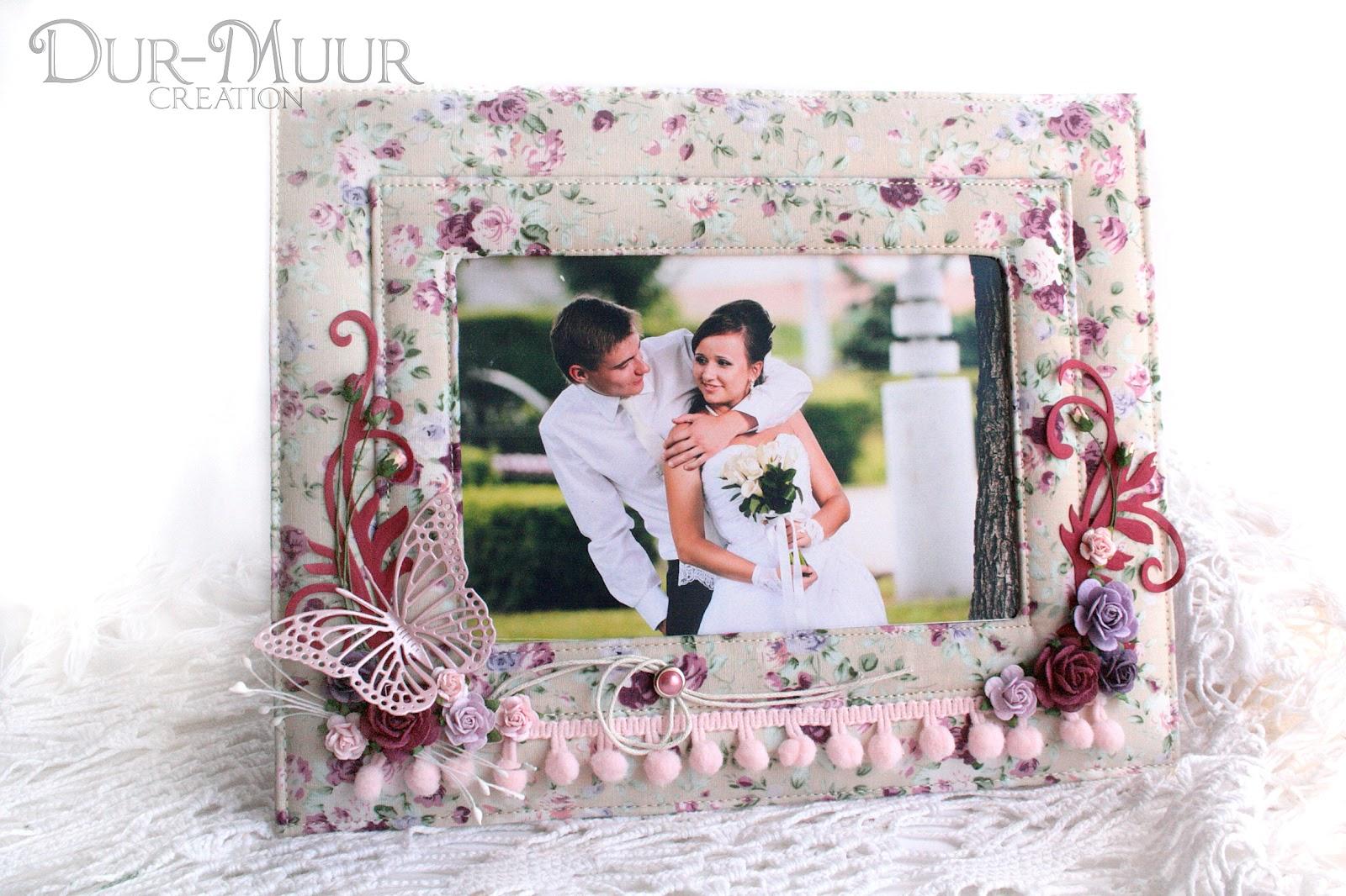 Фоторамки на свадьбу своими руками фото