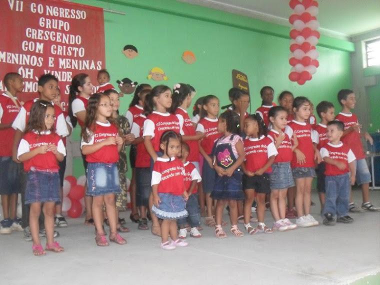 VII Congresso de Crianças Crescendo com Cristo