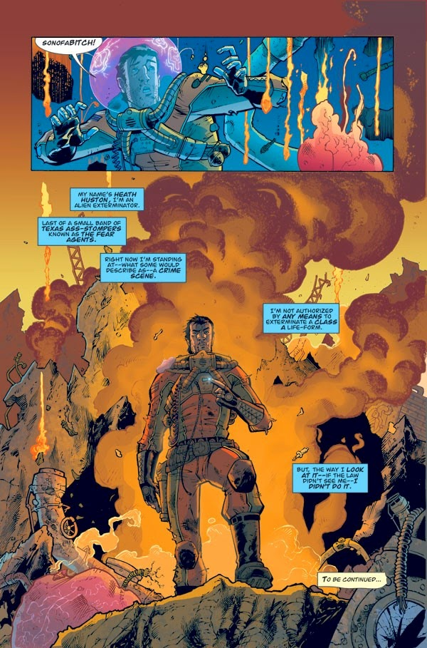 fear agent comic remender