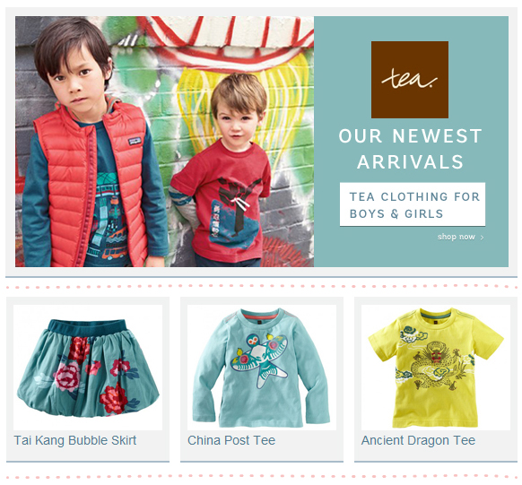 Tea Collection clothing for boys & girls