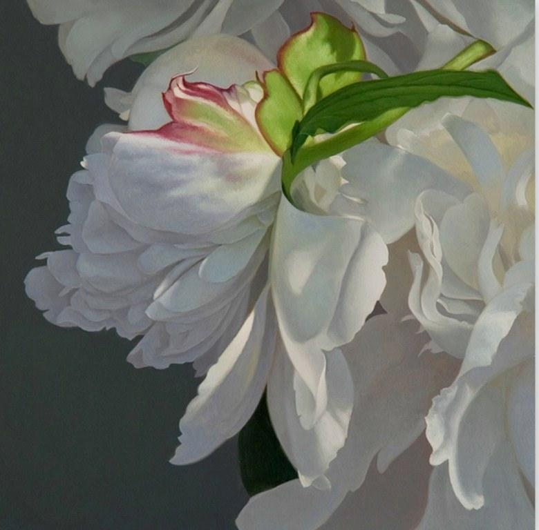 Cuadros modernos Modernos, abstractos, al óleo, para el  - Fotos De Pinturas De Flores