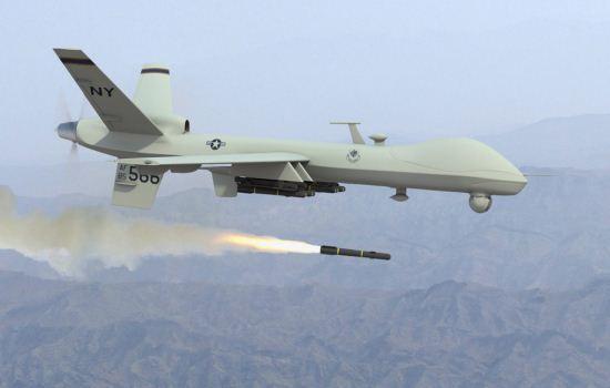 Serangan  drone
