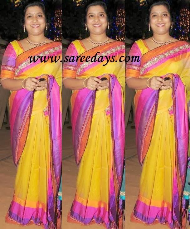 Latest saree designs yellow uppada pattu saree yellow uppada pattu saree thecheapjerseys Images