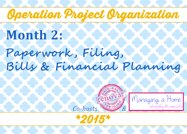 Operation: Project Organization Month 2, Week 4